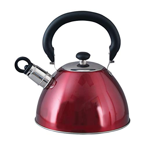 All American Collection Morbern 1.8 Quart Stainless Steel Tea Kettle