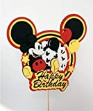 Planning a Mickey Mouse party and looking for that special touch? Then this Mickey mouse Topper will surely add a bit of extra cuteness to your cake! It will also make for a great centerpiece! Its HANDMADE with 3D effect and an eye to all the details...