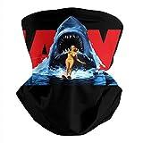 Winter Neck Gaiter Seamless Dust Cover Mask Movie-Jaws-Logo- Bandana Balaclava Face Scarf