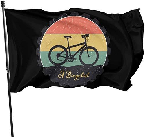 Tiffany Church Banderas Bi-Mcycle Imágenes PNG Banderas Bandera de Patio Resistente a la decoloración para decoración de jardín 3 x 5 pies