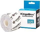 KingsBox Cinta Kinesiológica, Rollo Super Pegajoso no Cortado,...