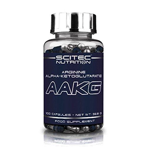 Scitec Nutrition AAKG acide aminé Arginine Alpha-Cetoglutarate 100 capsules