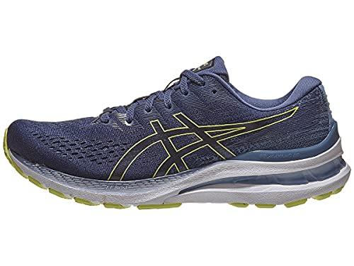 ASICS Men's Gel-Kayano 28 Running Shoes, 11, Thunder Blue/Glow Yellow