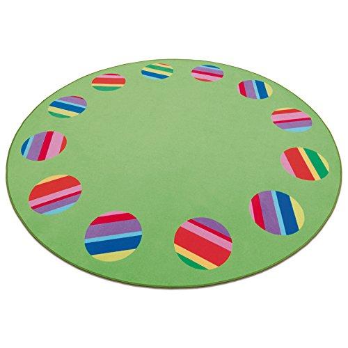 Erzi 51150 Circelino 300 Tapis Multicolore