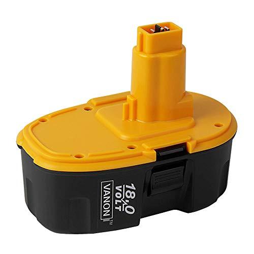 VANON DC9096 - Batería de repuesto para Dewalt (18 V, 3 Ah, Ni-Mh, para XRP, DC725, DE9096, DE9503, DC9098, DE9039, DE9095, DW9096, DW9098)