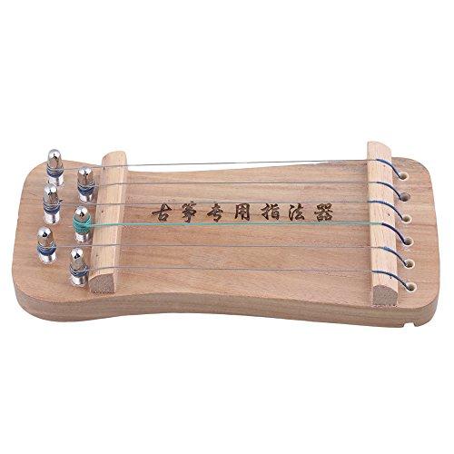 BQLZR 210x92x35mm a 6 corde in legno massello Guzheng cinese Zither dito mano ginnico dito resistenza strumento strumento di sensibilit¨¤ con un sacchetto