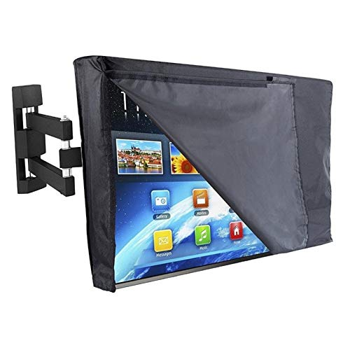 YWSZY Outdoor TV Cover Outdoor TV Cover and Bottom Cover The Best Weatherproof Dustproof Material Protect LCD Television Patio TV Cover (Specification : for 40 42inch TV)