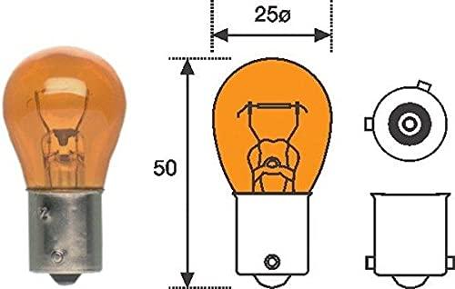 Magneti Marelli 008507100000 lampe PY21 W 12 V 21 W Standard – Un Ensemble de 10 pièces
