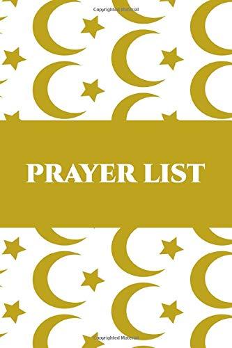 Islam Prayer List: Daily record Notebook for Muslim Prayers Volume 3