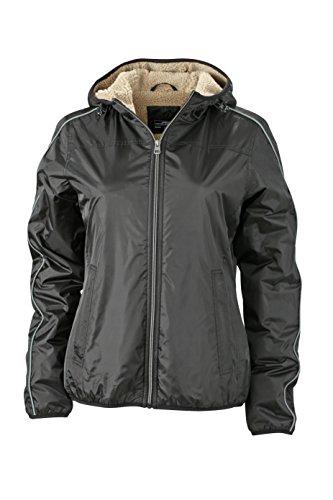 James & Nicholson Damen Jacke Jacke Winter Sports Jacket schwarz (Black/Camel) Small