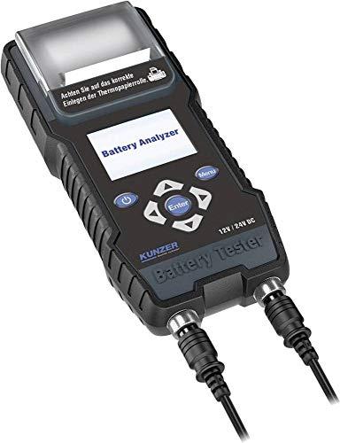 Kunzer Kfz-Batterietester 25 V, 24 V, 21 V, 18 V, 12 V, 8 V, 6 V, 2V