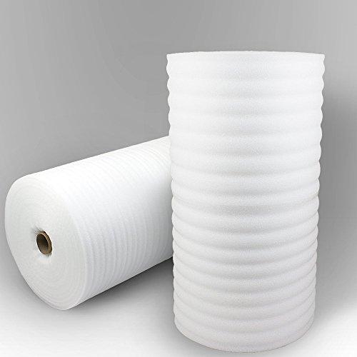 Trittschalldämmung PE-Schaumfolie Dämmung Unterlage Laminat Parkett Stärke:1mm (500m)