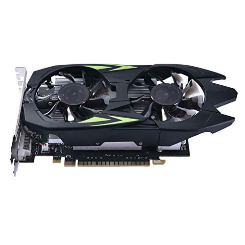 Eyoyo Professionale Graphics Card GTX 550 Ti 1GB DDR5 Scheda Grafica 128Bit per DVI VGA GPU God Scheda Video Scheda per NVIDIA PC Gaming