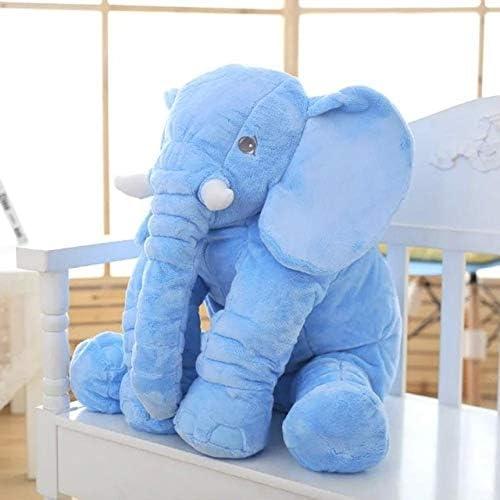 """HA Large Elephant Plush Pillow (7.9""""/15.7""""/23.6""""), Giant Elephant Stuffed Animals, Stuffed Elephant Plush Toy, Huge Elefant Pillow Stuffed Animals for Girls"""