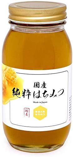奈良の里はちみつ 国産純粋はちみつ 1kg 非加熱 百花蜜