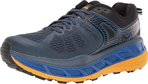 HOKA ONE ONE Men's Stinson ATR 5 Trail Running Shoes Moonlight Ocean/Old Gold