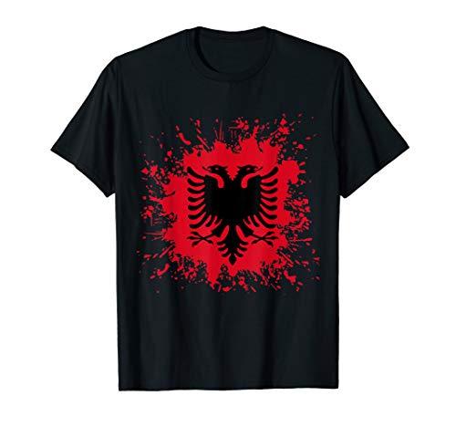 Albanien Flagge Shqiperi Albanische Flagge T-Shirt Shqiperia T-Shirt