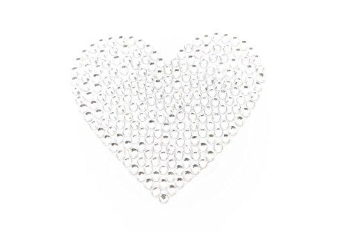 Silber Merkin Herz