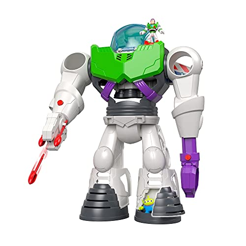 Fisher Price Imaginext Disney Pixar Toy Story Buzz Lightyear Robot Playset for Preschool Kids Ages 3...