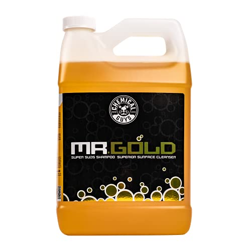 Chemical Guys CWS213 Mr. Gold Foaming Car Wash Soap (Works with Foam...