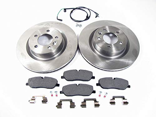 Front Brake Kit (LR019618) with Rotors and Textar Brake Pads for Land Rover LR3 (2005-2009)