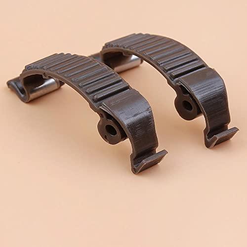 2 unids/lote Clip de hebilla de cubierta de cilindro de motosierra para sierras de gasolina HUSQVARNAA 450 450E 455, 545, 555, 570, 575, 575XP 576 576XP Ideal