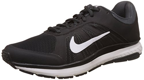 Nike Men's Dart 12 MSL Running Shoes Black/White 7