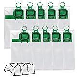 TOPOWN bolsas para aspiradora bolsas de filtro Vorwerk Kobold VK140 VK150 FP140 FP150 bolsa de polvo