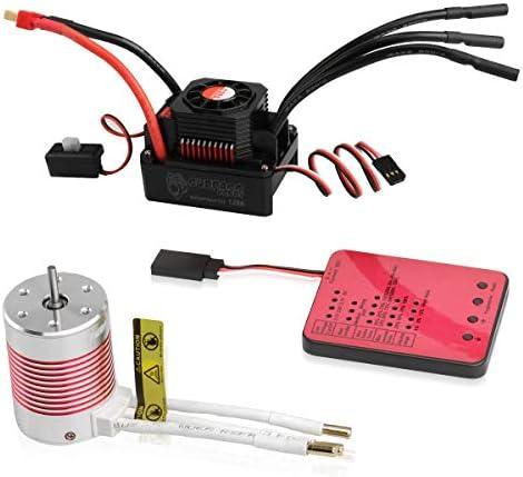 540 Brushless Motor 120A ESC Programming Card 3650 5200KV Sensorless Motor Waterproof ESC Electronic product image