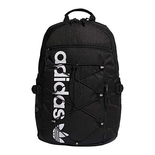 adidas Originals Unisex Future Backpack, Black/White, ONE SIZE