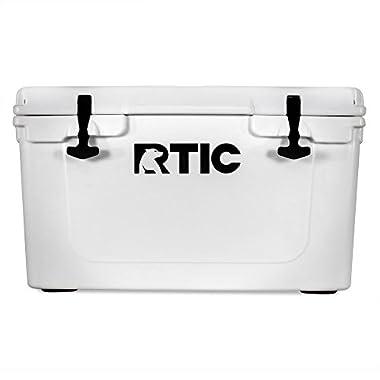 RTIC Cooler, 45 qt (White)