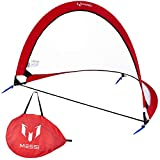 Messi Training System Pop Up Soccer Goal for Kids - 4ft Outdoor or