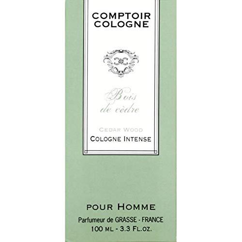 Comptoir Cologne - Eau De Cologne Pour Homme - Bois De Cèdre - 100Ml - Lot De 2 - Livraison Rapide En France - Prix Par Lot