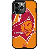 Skinit Decal Phone Skin Compatible with OtterBox Defender Case for iPhone 12 Pro Max - Officially Licensed NFL Tampa Bay Buccaneers Retro Logo Design