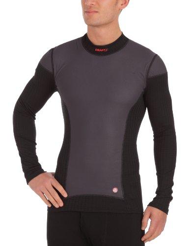Craft - Camiseta de Ciclismo para Hombre, tamaño S, Color Negro/Blanco