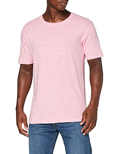 GSA Men's Crew Neck T-Shirt Camiseta, Rosa, XL para Hombre