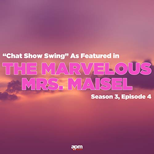 """Chat Show Swing (As Featured in """"The Marvelous Mrs Maisel"""" Season 3 Episode 4)"""