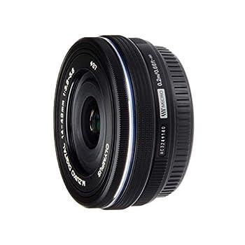 Olympus M.Zuiko Digital ED 14-42mm F3.5-5.6 EZ Lens for Micro Four Thirds Camera  Black