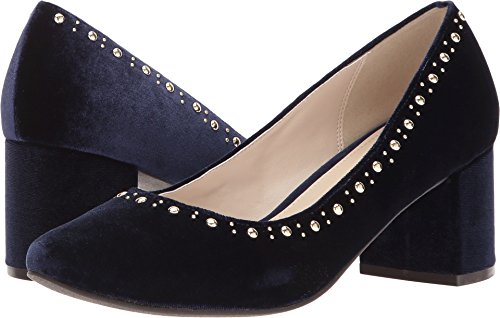 Cole Haan Women's Justine Stud Pump 55mm Pumps Shoes Marine Blue Velvet 9.5 B US