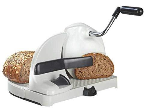WENKO Brotschneidemaschine, mit Handkurbel Brotmaschine Schneidemaschine Brotschneider Schneidmaschine Brotschneidmaschine