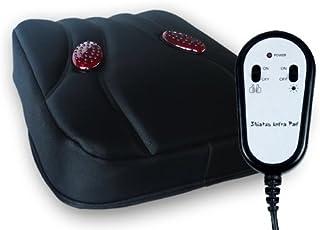 Shiatsu Infra Coussin de massage avec 6 têtes de massage