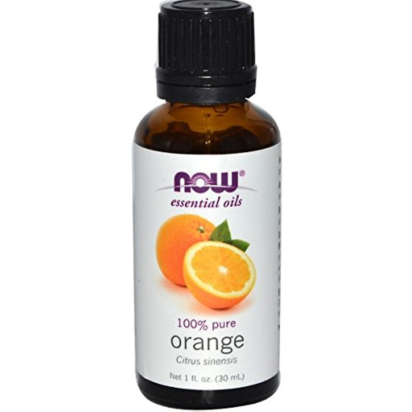 物理連続的奇妙なNOWエッセンシャルオイル オレンジ精油 アロマオイル 30ml 【正規輸入品】