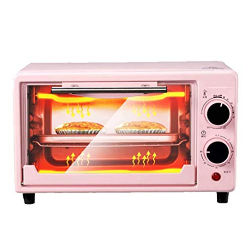 LQRYJDZ 11L Mini Electric Oven Multifunctional Bread Toaster Pizza Cake Baking Grill Automatic Roasted Chicken Stove Machine