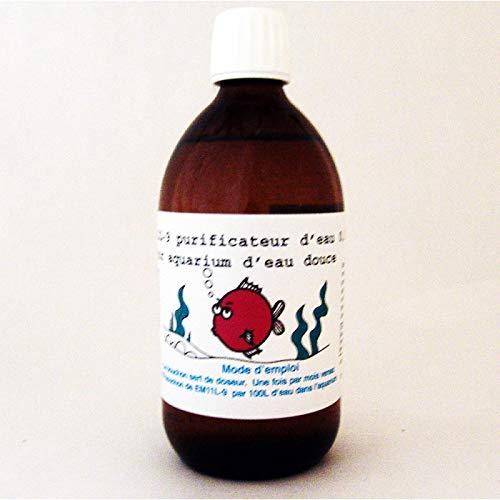 em-ecologie Épurateur d'eau pour Aquarium aux probiotiques sans Chimie EM11G-9, 0,5L