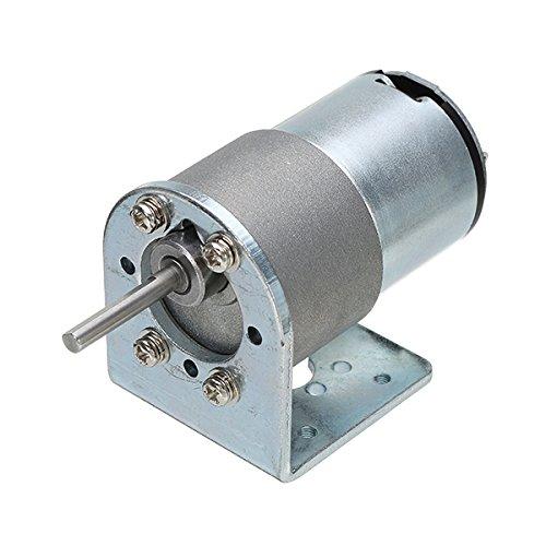 TuToy Chihai Motor Dc 12V 200Rpm Encoder Motor Hall Encoder Motor Con Soporte De Montaje