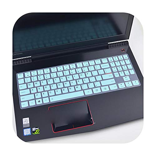 15 Pollice Silicone Tastiera Copertura Protettiva Pelle Per 15.6 Pollici Lenovo Legion Y720 Y520 Y530 Y540 R720 R730 15Ikbn R720-15Ikbn Laptop-Skyblue -