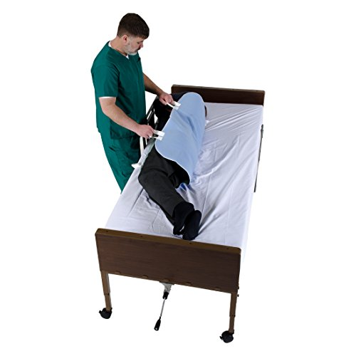 """Patient Aid 34"""" x 36"""" Positioning Bed Pad with Handles 