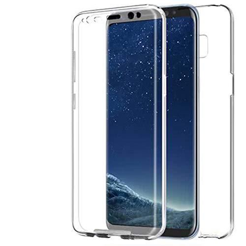 Funda 360 ??Grados para Samsung Galaxy J2 Prime | Claro | Protección en Silicona
