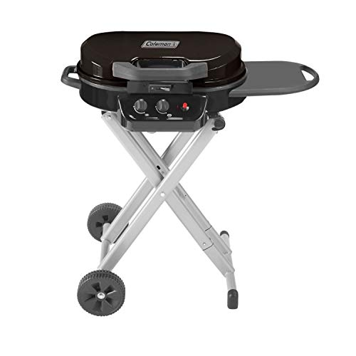 Coleman Coleman RoadTrip 225 Portable Stand-Up Propane Grill, Black Camp Kitchen