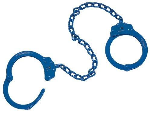Peerless Handcuffs Company 753B Leg Iron, Blue